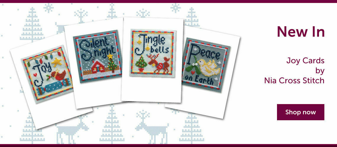 New In! Joy Cards by Nia Cross Stitch