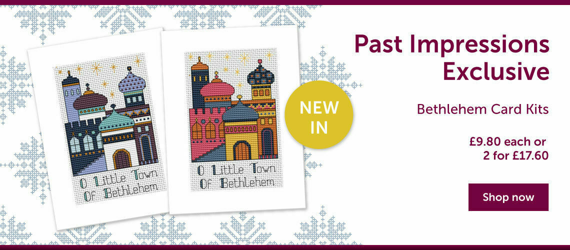 Past Impressions Exclusive Bethlehem Card Kits