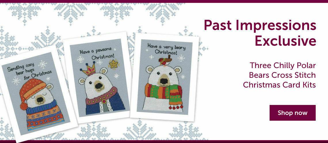 Three Chilly Polar Bears Cross Stitch