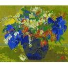 Gauguin - A Vase Of Flowers Cross Stitch Kit