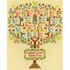 Traditional Family Tree Sampler Cross Stitch Kit