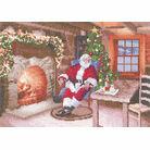 Santa's Job Done Cross Stitch Kit