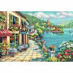 Overlook Cafe Cross Stitch Kit