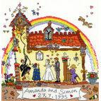 Cut Thru' Wedding Cross Stitch Kit