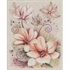 Peony Fantasy Cross Stitch Kit