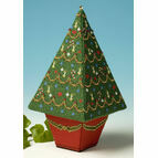 Tall Christmas Tree 3D Cross Stitch Kit