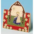 Nativity Card 3D Cross Stitch Kit