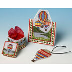 Flight of Fancy Cross Stitch Gift Set Trio