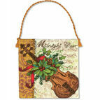 Violin Ornament Cross Stitch Kit