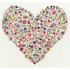 Love Heart Cross Stitch Kit