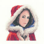 Scarlett Miniature Cross Stitch Kit