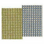Mill Hill 14 Count Perforated Paper - Silver & Gold (4 Sheets)