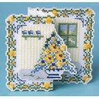 Bouquet 3D Cross Stitch Card Kit
