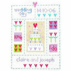 Wedding Sampler Cross Stitch Kit