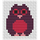 Easy Peasy Owl Cross Stitch Kit