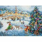 Winter Celebration Cross Stitch Kit