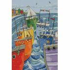 Rainbow Flotilla Cross Stitch Kit