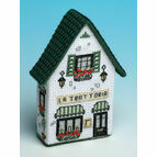 La Trattoria 3D Fridge Magnet Cross Stitch Kit