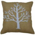 Snow Tree Value Cross Stitch Cushion Front Kit