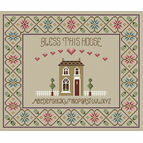 Bless This House Alphabet Cross Stitch Kit