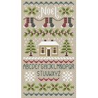 Noel Noel Alphabet Cross Stitch Kit