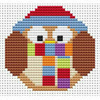 Sew Simple Winter Owl Cross Stitch Kit