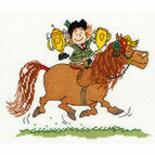 Thelwell Trophies Cross Stitch Kit