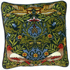 William Morris Bird Tapestry Cushion Panel Kit