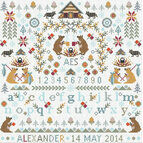 Little Bears Cross Stitch Kit