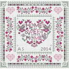 Home Sweet Heart Home Cross Stitch Kit