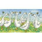 Gossiping Geese Cross Stitch Kit