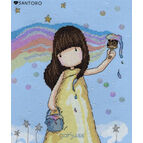 Gorjuss Rainbow Dreams Cross Stitch Kit