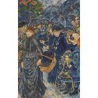 Renoir - The Umbrellas Cross Stitch Kit