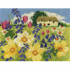Spring Bloom Cross Stitch Kit
