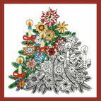 Zenbroidery - Christmas Tree Fabric Pack