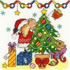 Christmas Mouse Cross Stitch Kit