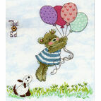 Ted & Ed - Up, Up And Away Cross Stitch Kit