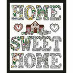 Zenbroidery Home Sweet Home Fabric Pack