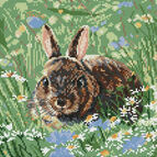 Woodland Bunny Cross Stitch Kit