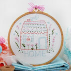 Home Sweet Home Embroidery Kit