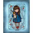 Gorjuss Hush Little Bunny Cross Stitch Kit
