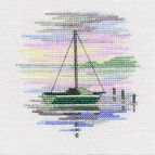 Sailing Boat Cross Stitch Kit