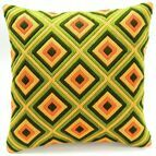 Bold Geometric Style 4 Long Stitch Cushion Panel Kit