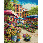 Provence Market Cross Stitch Kit
