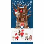 Tomte Tree House Cross Stitch Kit