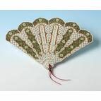 Christmas Fan Victorian Style 3D Card Kit