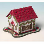 Woodland Cottage 3D Cross Stitch Kit