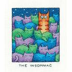 The Insomniac Cross Stitch Kit