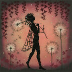 Dandelion Fairy Cross Stitch Kit