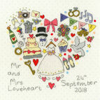 The Big Day! Cross Stitch Kit